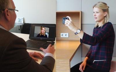Dirk-Olivier-videovergaderend
