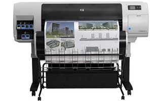 HP DesignJet T7100 grootformaat printer