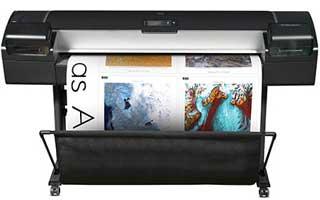 HP DesignJet Z5200 grootformaat printer
