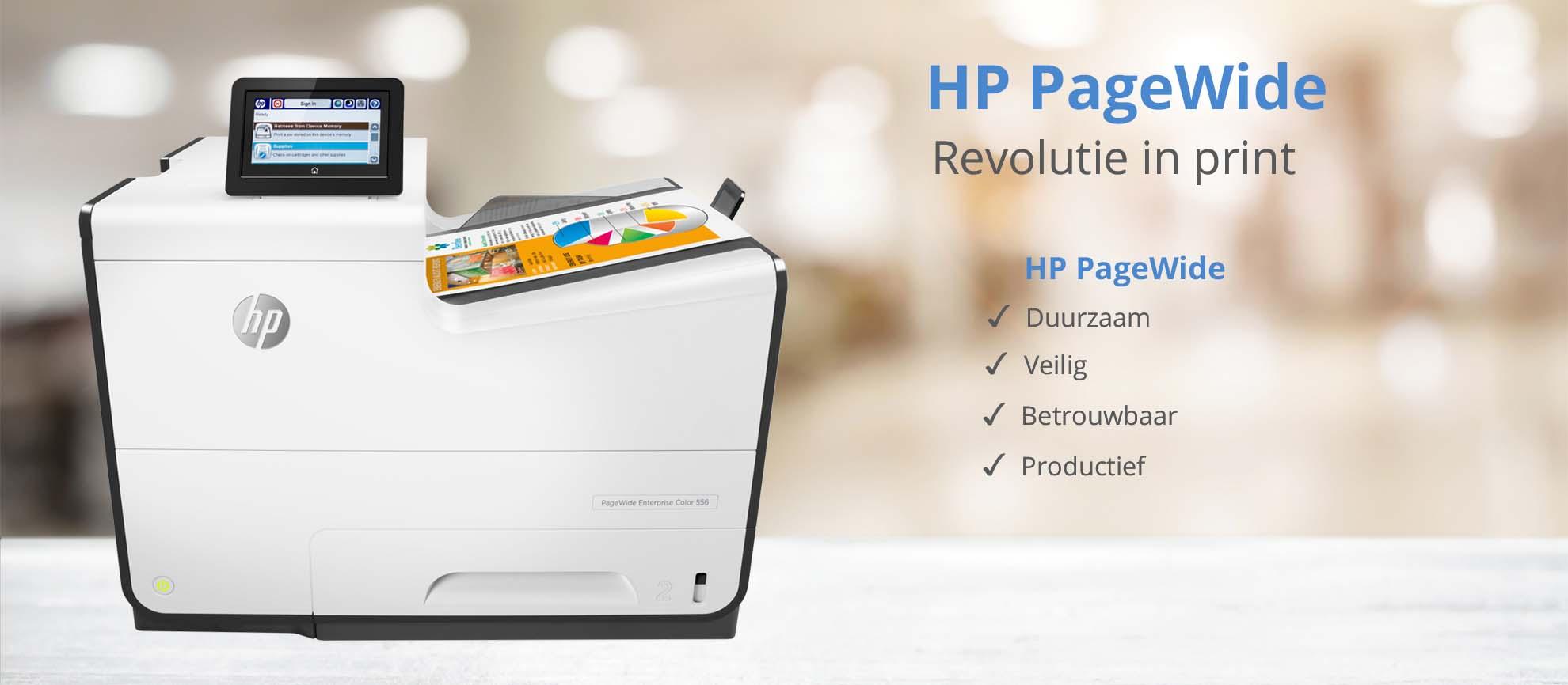 HP PageWide revolutie in print