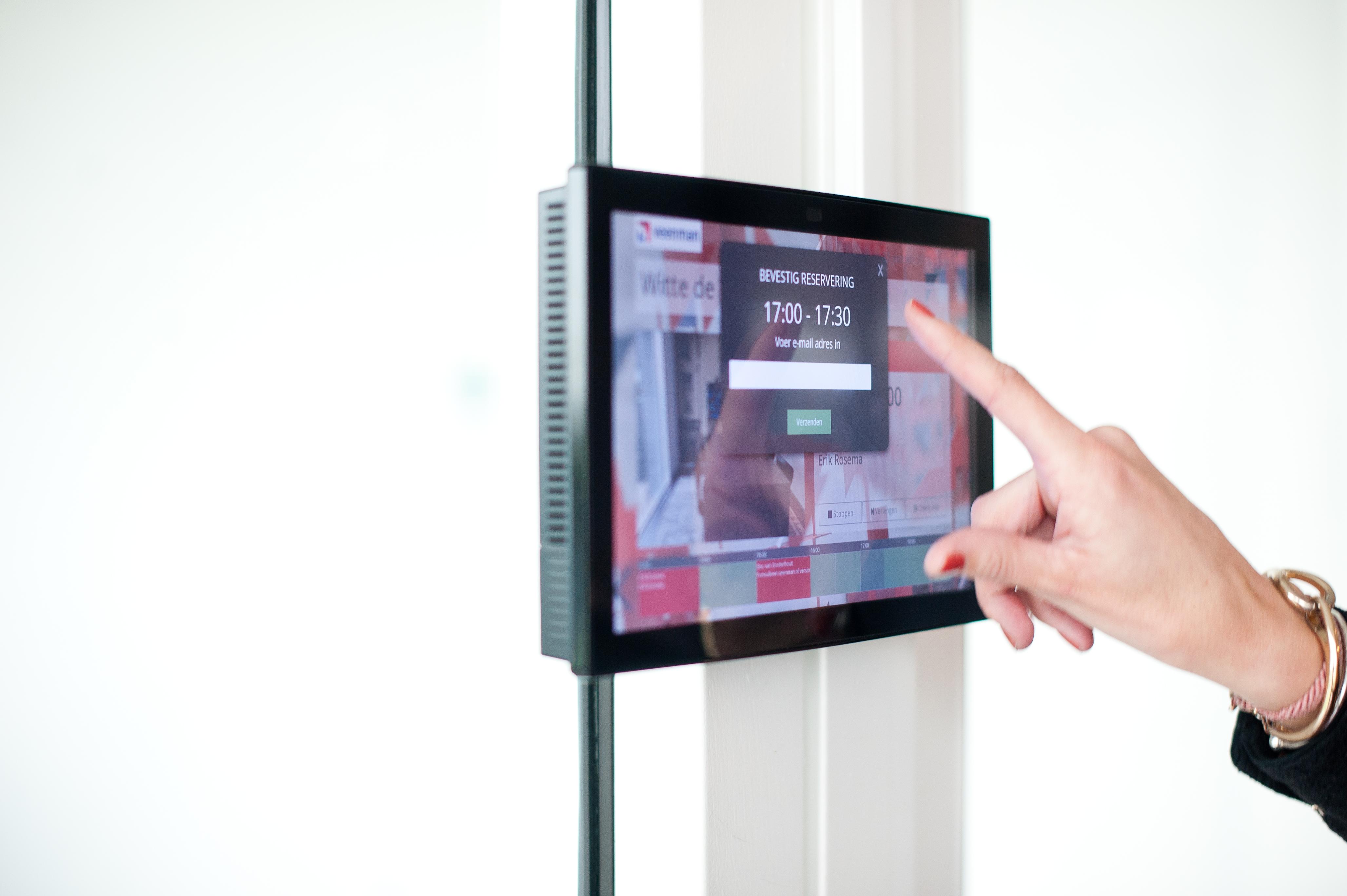 audiovisuele middelen touch panelscherm