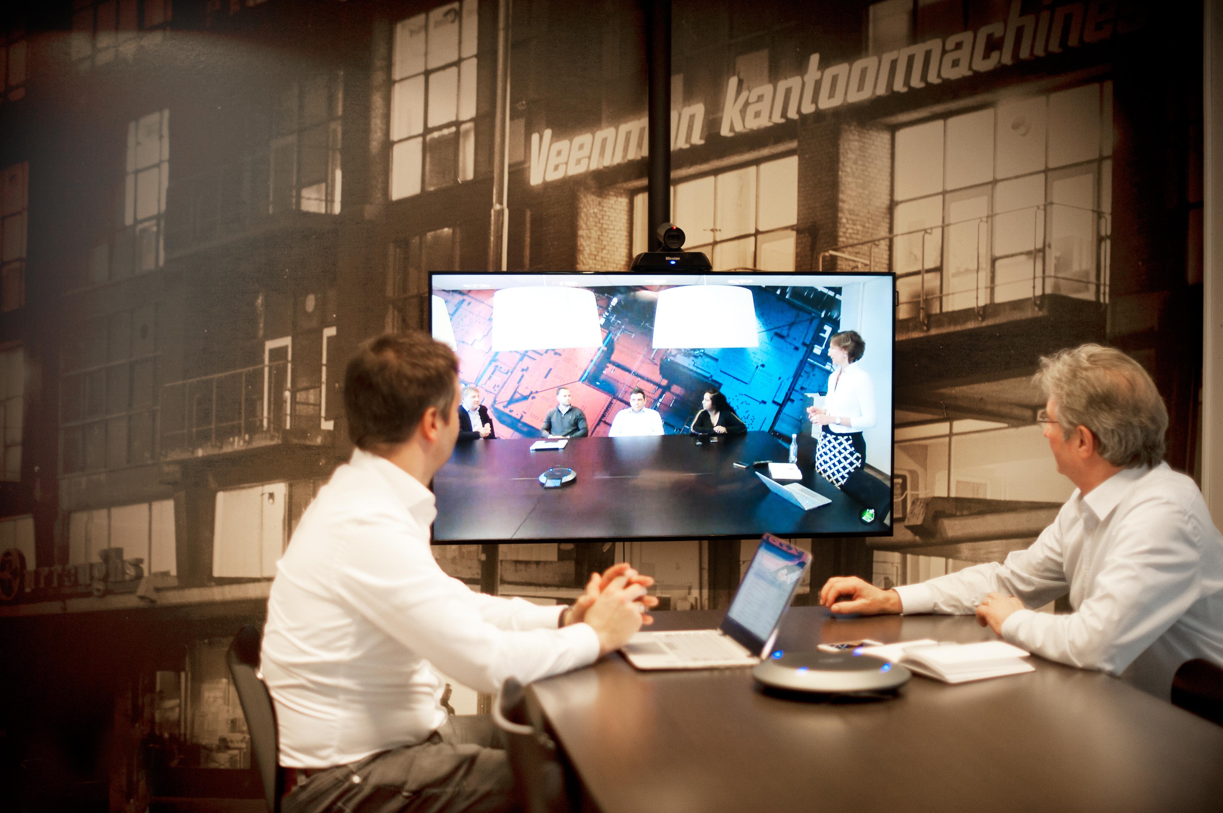 Afbeelding audiovisuele-middelen-videoconferencing