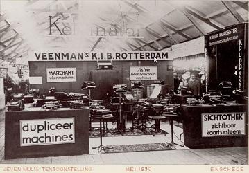 Veenman Zeven Mijls Tentoonstelling 1930