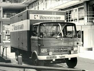 Veenman vrachtwagen