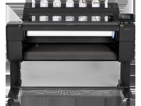 HP DesignJet T930 printer vooraanzicht