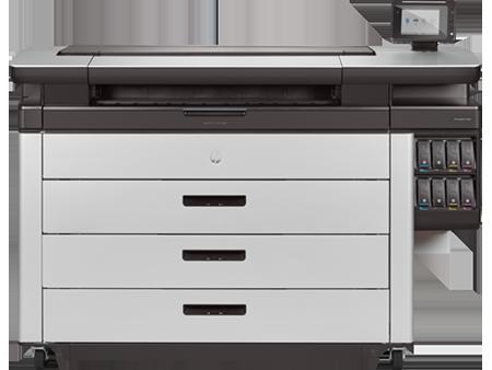 HP PageWide XL 8000 printer vooraanzicht